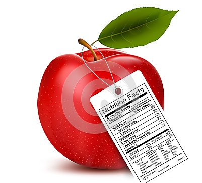 apple-nutrition-facts-label-vector-41491589